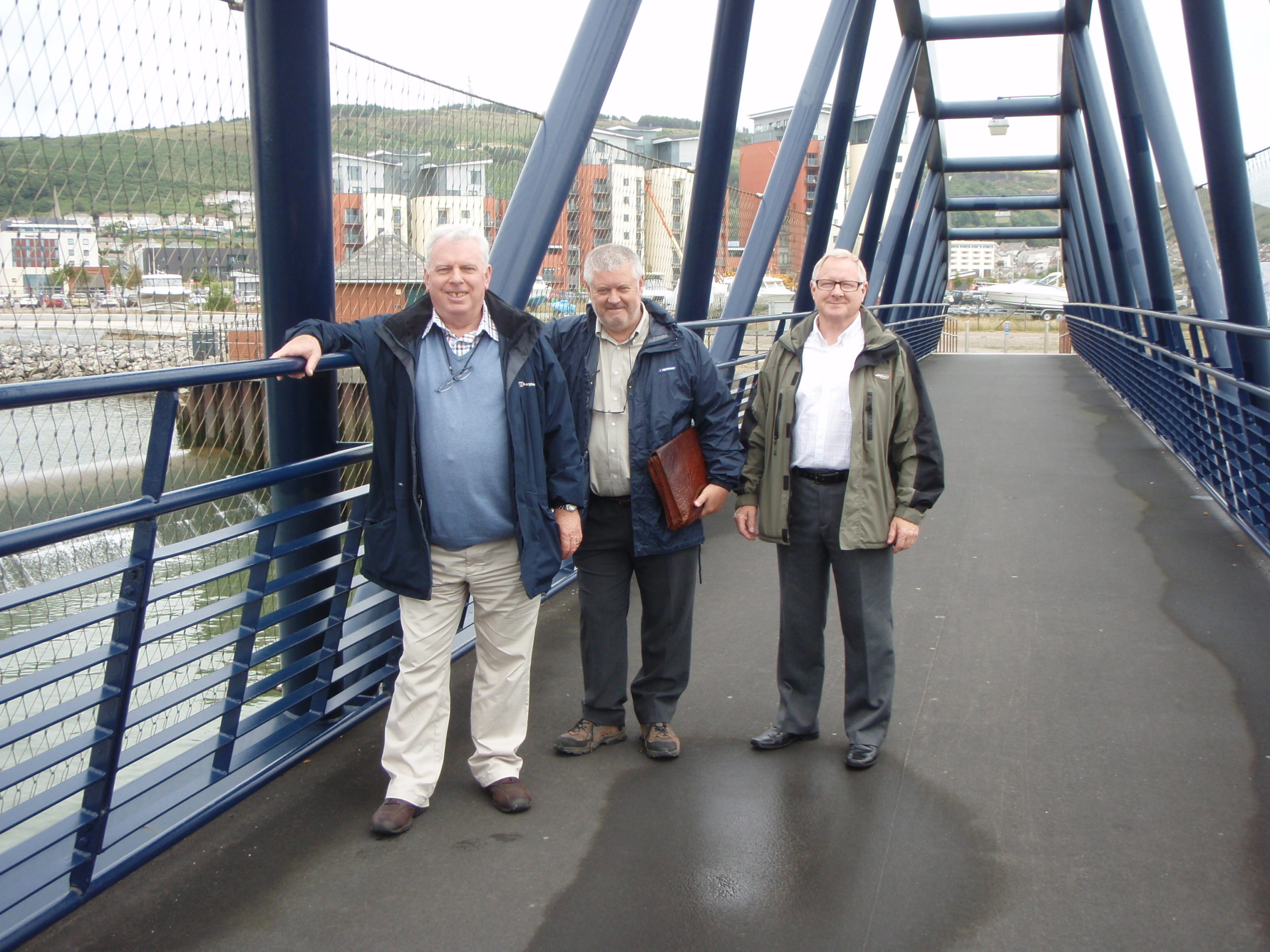 Afan Valley Angling Club members