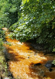 Minewater pollution